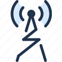 audio, connection, radio, speech, wave, wireless icon