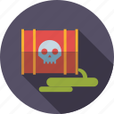 barrel, damage, environment, leaking, poisonous, toxic, waste icon
