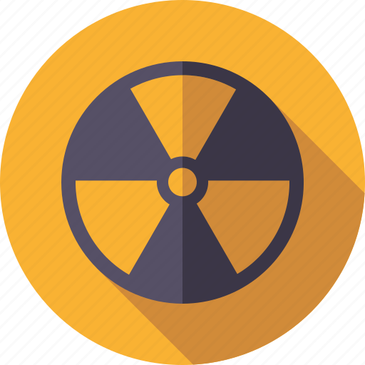 danger, environment, radiation, radioactive, radioactivity, warning icon
