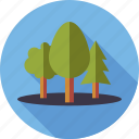 environment, forest, nature, plants, trees, wood icon