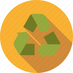 arrows, circulation, cycle, environment, recycling icon