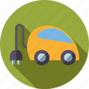 car, electric, environment, hybrid, plug, plug-in, vehicle icon