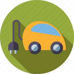 car, electric, environment, hybrid, plug, plug-in, vehicle icon