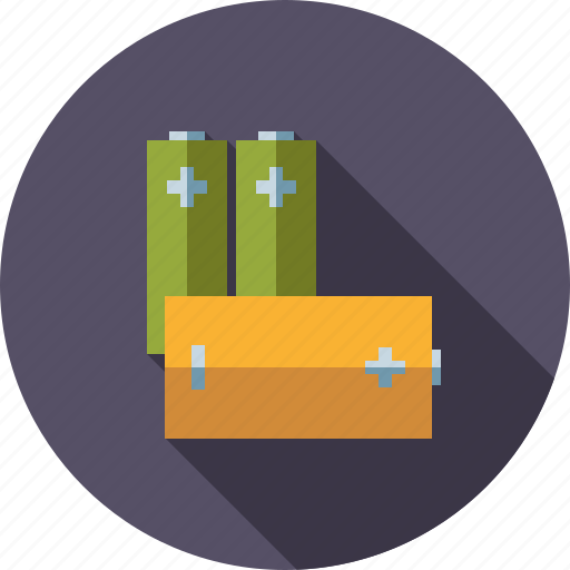 accumulator, batteries, energy, environment, storage icon