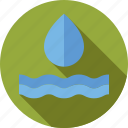 drop, environment, nature, water icon