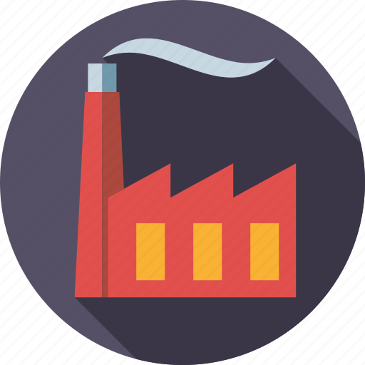chimney, emission, environment, factory, industry, plant, smoke icon