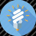 bulb, energy saving lightbulb, environment, esl, lamp, light icon