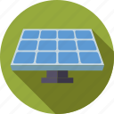 energy, environment, panel, renewable, solar, solar cell, sustainable icon