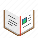book, bookmark, education, knowledge, learn, learning, school, student, study icon