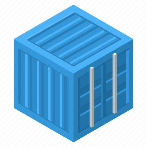 container, crate, export, import, shipment, shipping, trailer icon