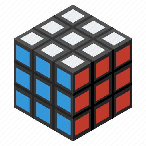 box, cube, game, isometric, rubik, toy, toys icon