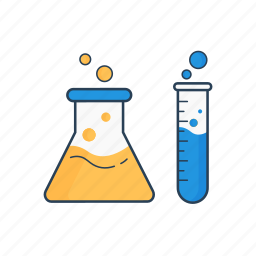 chemistry, discover, experiment, lab, laboratory, research, science icon