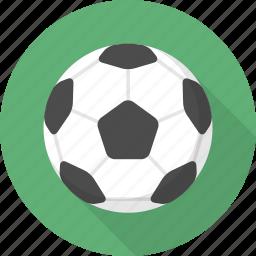 ball, circle, flatballicons, soccer, sport icon