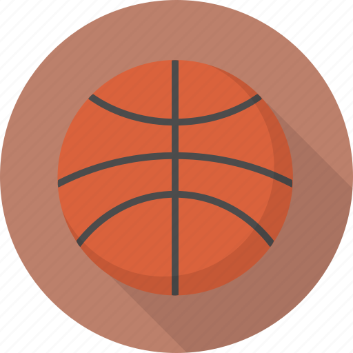 ball, basketball, circle, flatballicons, sport icon