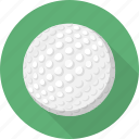 ball, circle, flatballicons, golf, sport icon