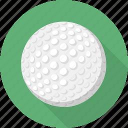 ball, circle, flatballicons, golf, sport icon