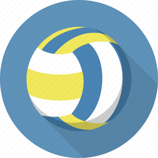 ball, circle, flatballicons, sport, volley icon