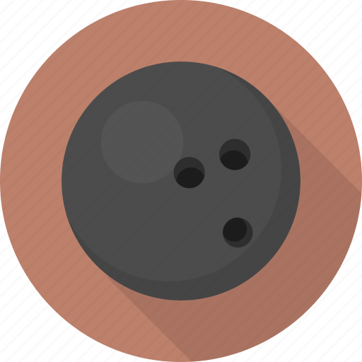 ball, bowling, circle, flatballicons, sport icon