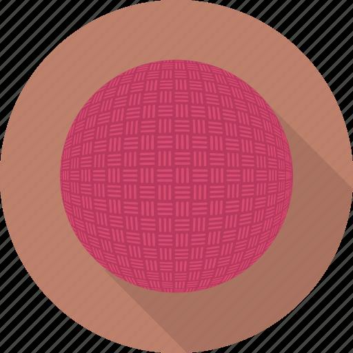 ball, circle, dodgeball, flatballicons, sport icon