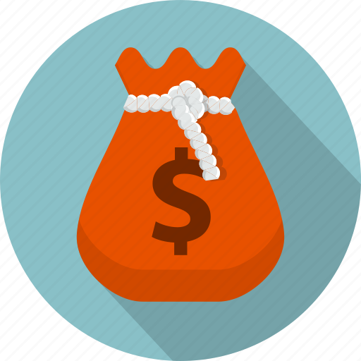bag, bank, business, cash, dollar, finances, sack icon