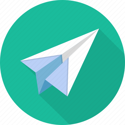 Mail, paper, plane, paper plane icon - Download on Iconfinder