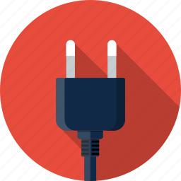 cable, electric, electricity, energy, jack, plug, plug in icon