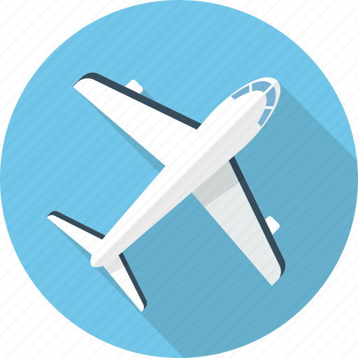 aircraft, airplane, journey, plane, transportation, travel, vehicle icon