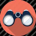 binoculars, eye, find, location, view, watch, zoom