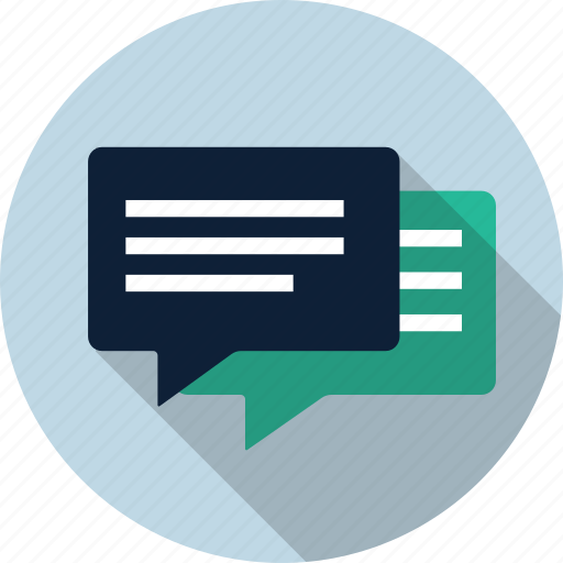 Chat, chat bubble, comment, dialog, speak, speech, talk icon - Download on Iconfinder