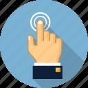 click, cursor, finger, gesture, hand, pay per click, pointer
