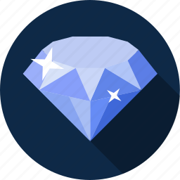 bijou, diamond, gems, gemstone, jewelry, ruby, stone icon