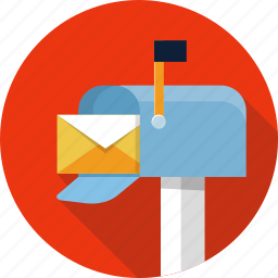 address, box, contact, email, inbox, mail, mailbox icon