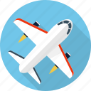 aircraft, airplane, aviation, flight, fly, plane, ship icon
