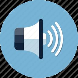 loud, multimedia, music, mute, sound, speaker, volume icon