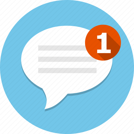 bubble, chat, message, msg, new, talk icon