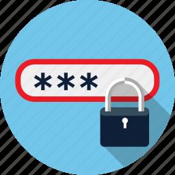 id, lock, pass, password, security icon