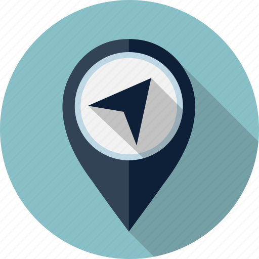 location, map, marker, navigation, pin icon