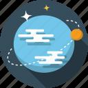 earth, globe, orbit, planet, satellite, world icon