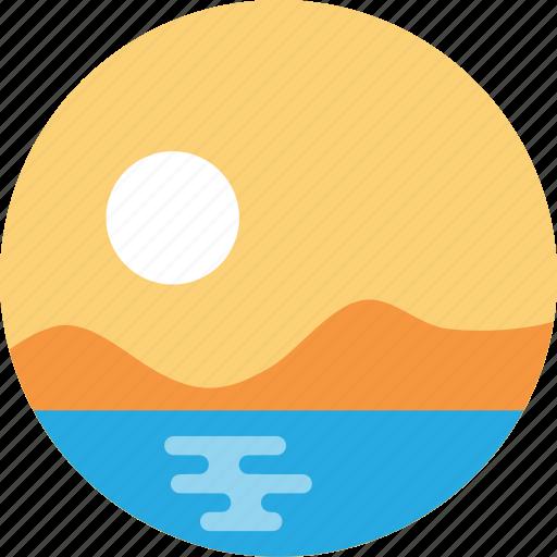 sun, sunrise, sunset, travel, weather icon