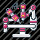 medical, robot, healthcare, surgery, machine, telemedicine icon