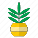 flowers, plant, plants, pot icon