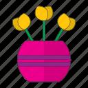 decoration, flowers, plants, terace