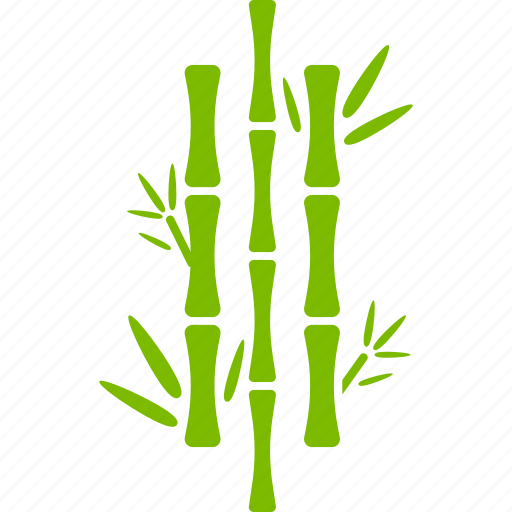 bamboo, ecology, forest, greenery, jungle, leaves, plant icon