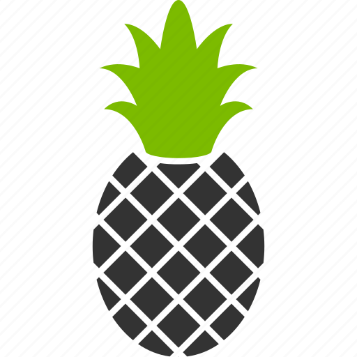 ananas, exotic, food, fruit, pineapple, sweet, tropical icon