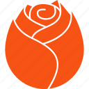 beauty, floriculture, flower, love, romantic, rose, valentine icon