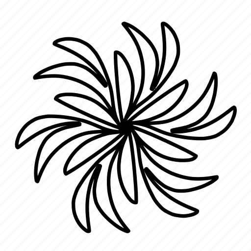 design, drawing, floral, flower, flowers, ornaments, swirls icon