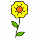 environment, flower, garden, natural, petunia, plant icon