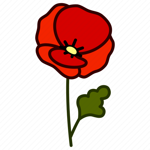 bloom, ecology, environment, flower, garden, plant, poppy icon