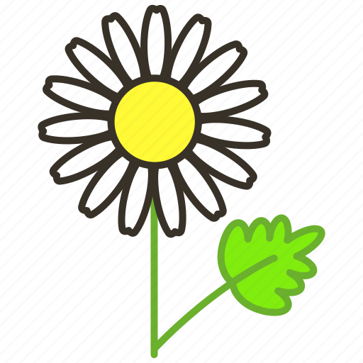 chamomile, ecology, environment, flower, garden, plant icon