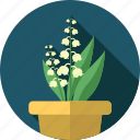 bell, flower, flowers, garden, plant icon